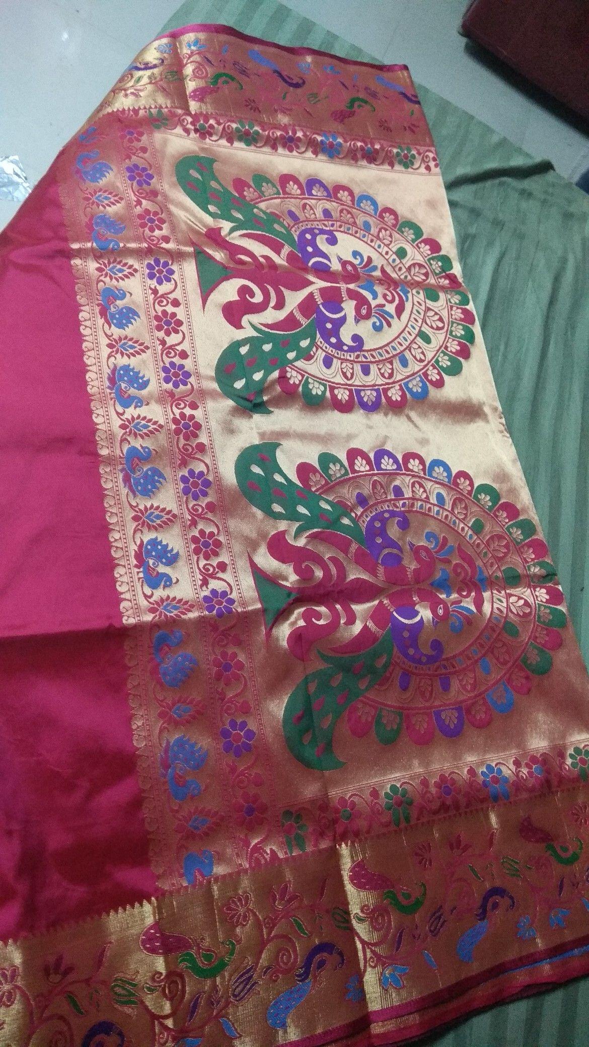 Yeola paithani saree images yeola ani just at rs   paithani  pinterest
