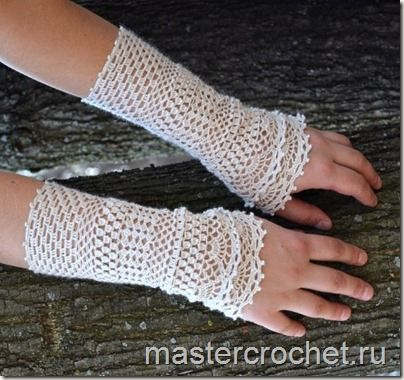 Ergahandmade Crochet Gloves Pattern Step By Step Diagram