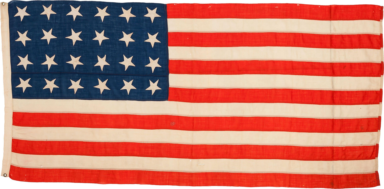 24 Star Missouri Us Flag