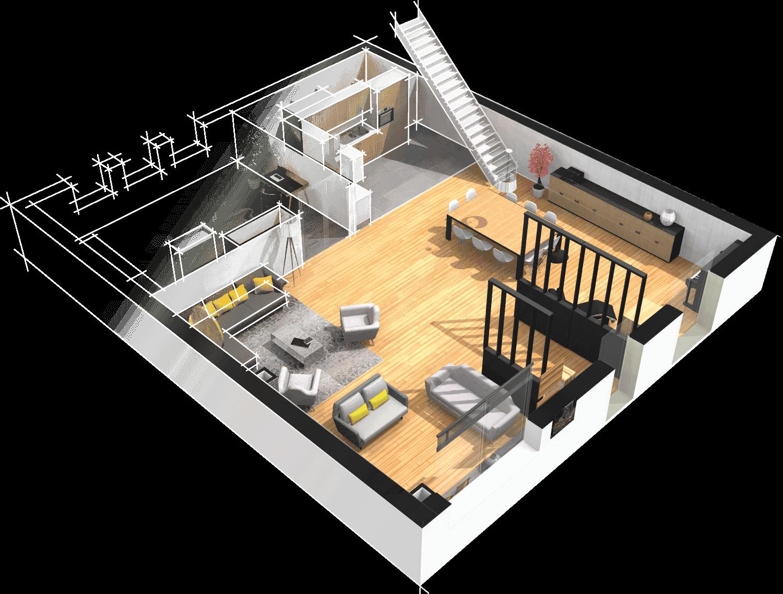 homebyme est un logiciel darchitecture dintrieur gratuit et en ligne pour trouver des ides dcos crer vos plans dcorer et amnager votre maison - Cree Ma Maison En 3d Gratuitement