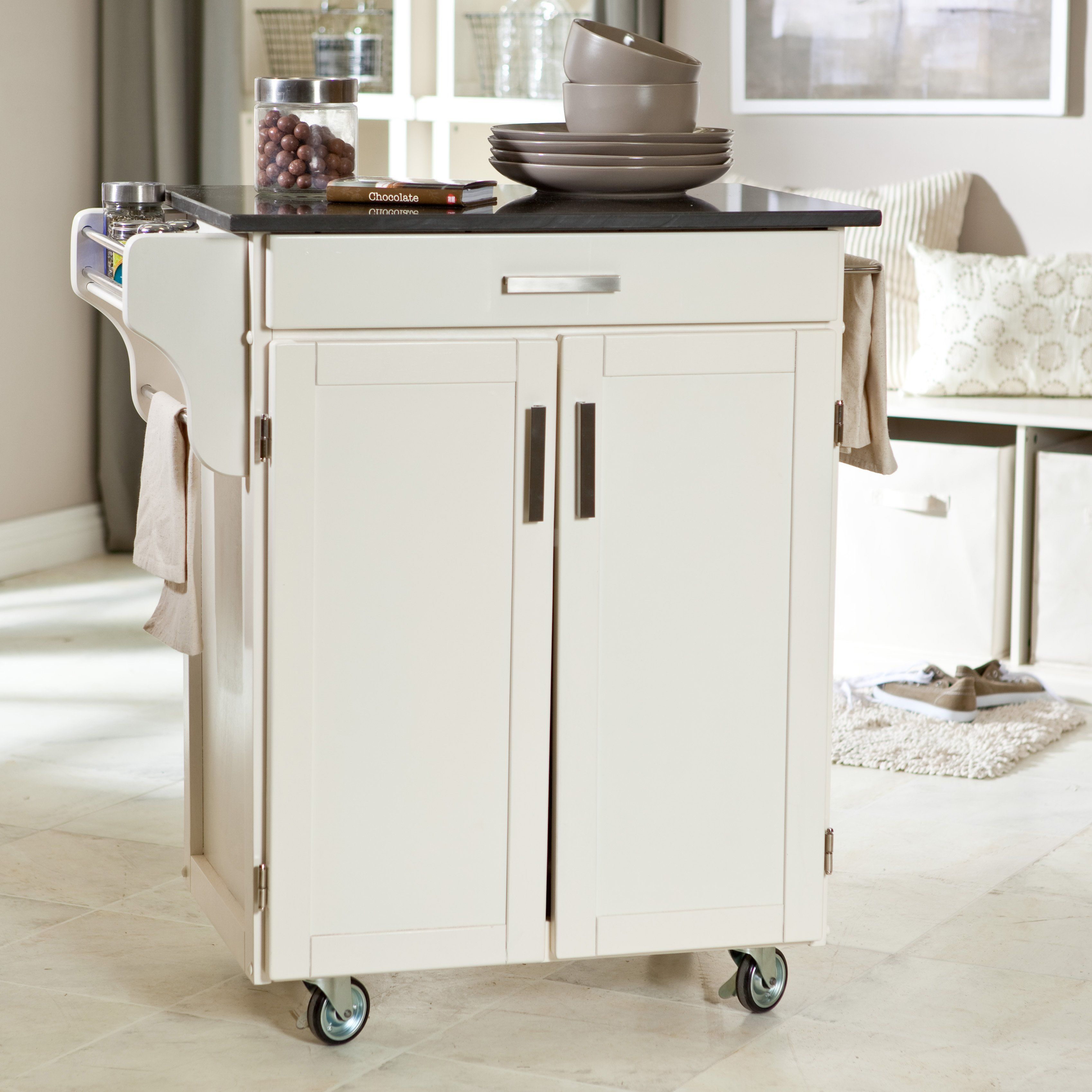We need a kitchen cart for the new house. This may work...In black ...