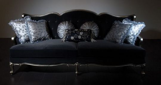 Black + Velvet + Tufted = Gorgeous | Dream Home-Furniture(multi room ...