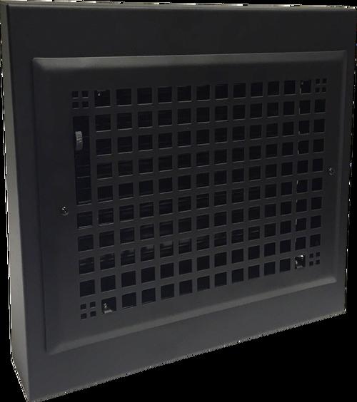 Decorative Steel Black Gravity Baseboard Registers 10 X 8 13 X 12 Overall Baseboard Register Baseboard Heating Baseboard Heater Covers