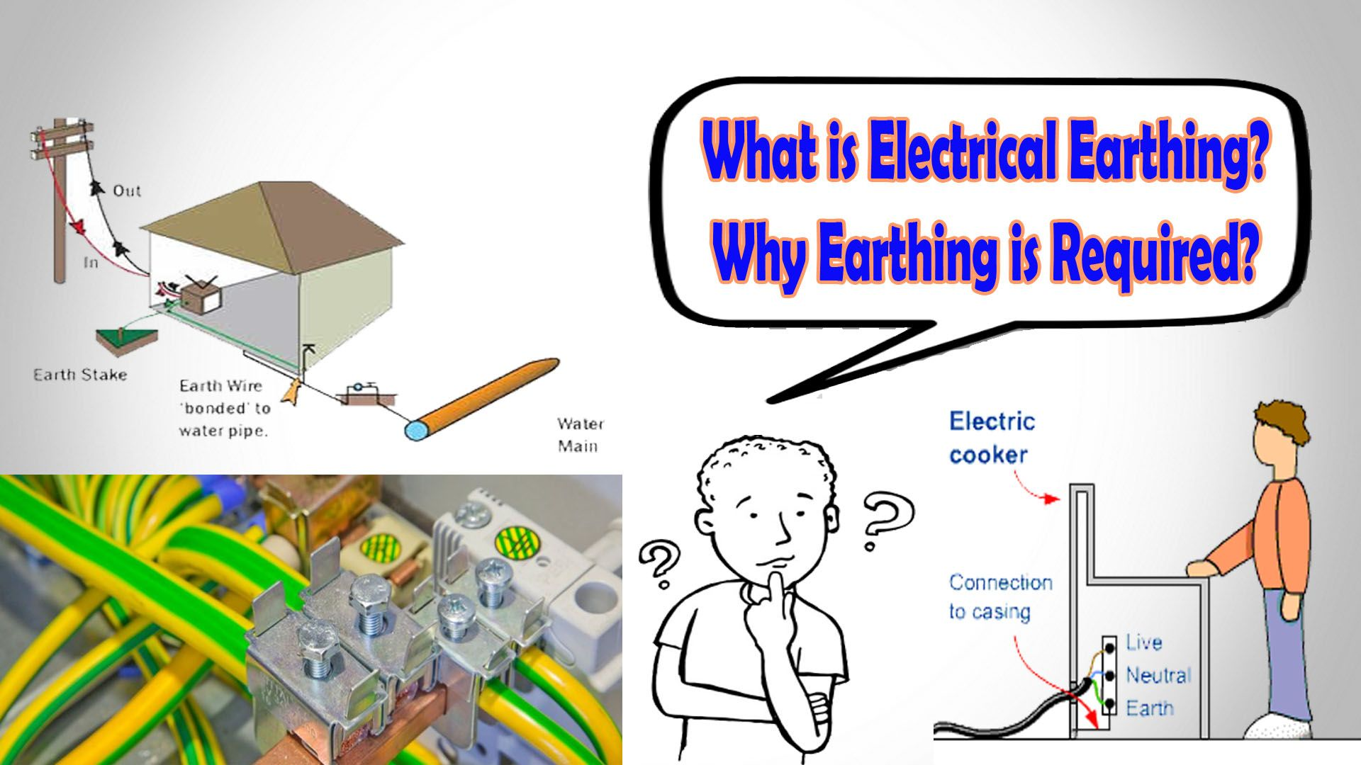 electrical earthing why earthing is required learning rh pinterest es
