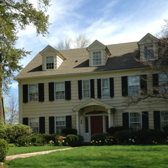 English Colonial Style home in NJ Period Style Homes Pinterest