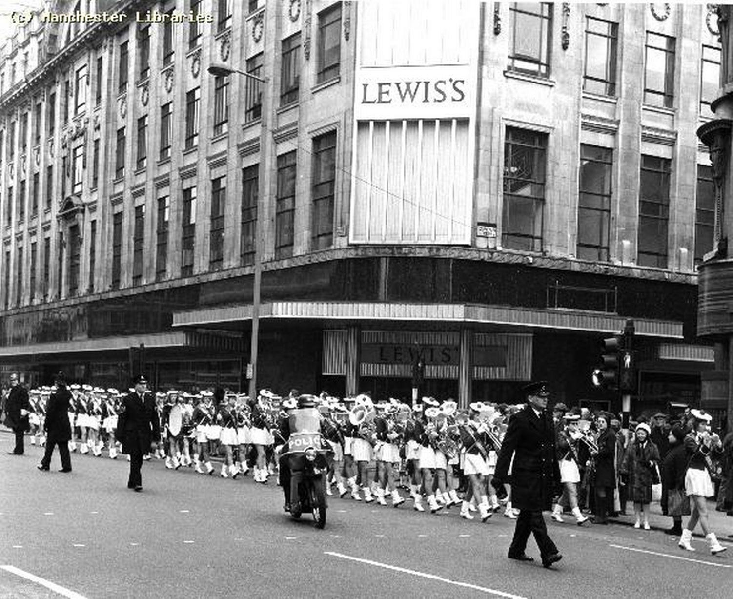 Market Street Down Decades Manchester Evening News Manchester