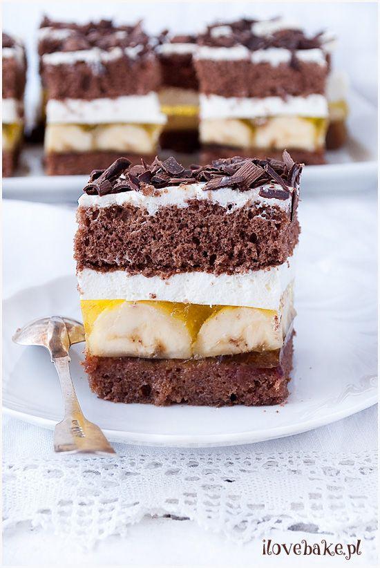 Ciasto Jamajka Bananowe I Love Bake Food Desserts Polish Recipes