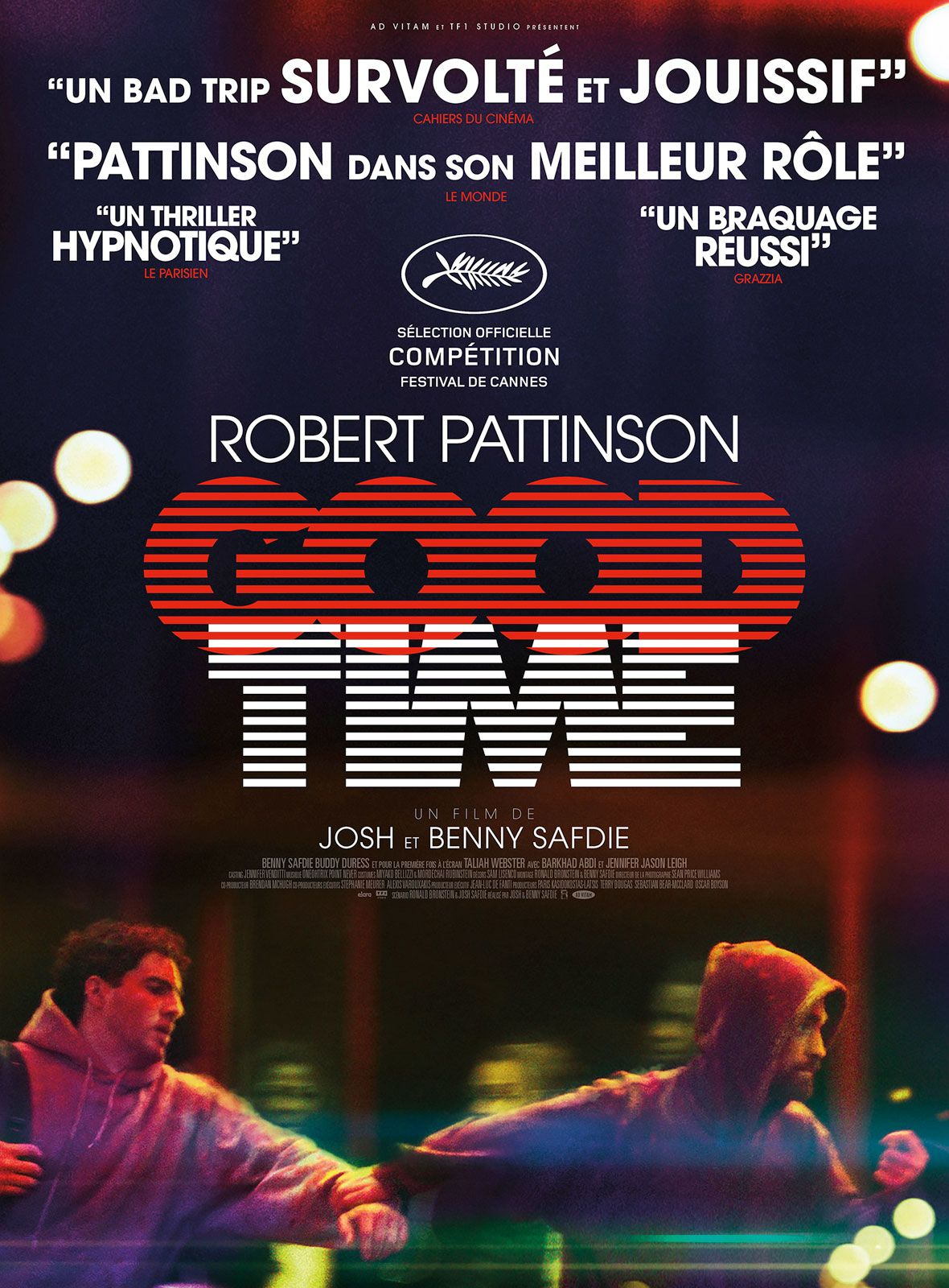 Good time starring robert pattinson directed by josh and benny books fandeluxe Images