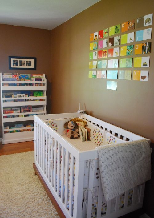 I Used These Same Charlie Harper Flashcards In Cam S Room Like Mine Better But This Wall Color