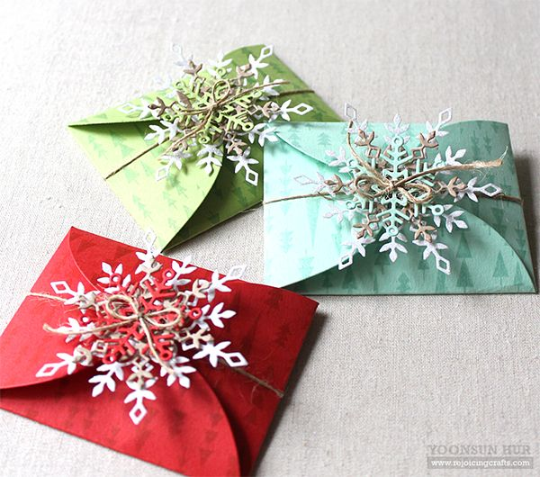 New Christmas Birthday Cards 3sets Heart-shaped Envelope Greeting Message Card