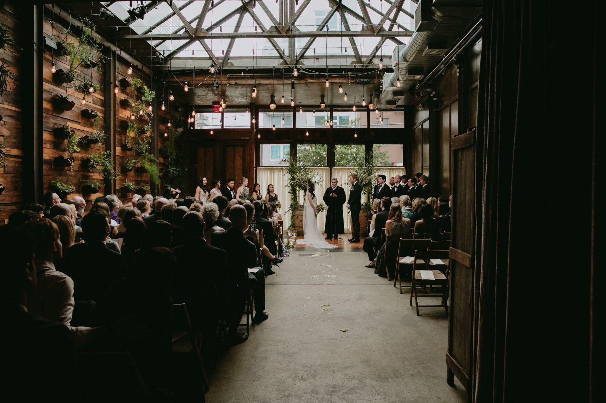 Wedding Walkthrough Brooklyn winery, Winery weddings