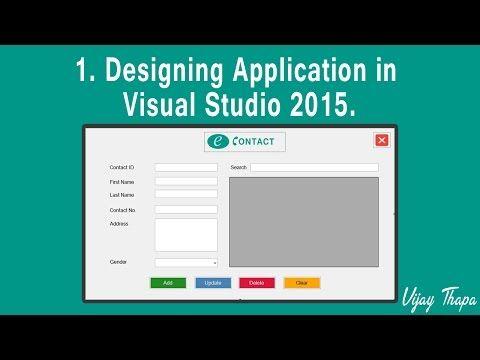1 How to Create Simple C Desktop Application? (Designing