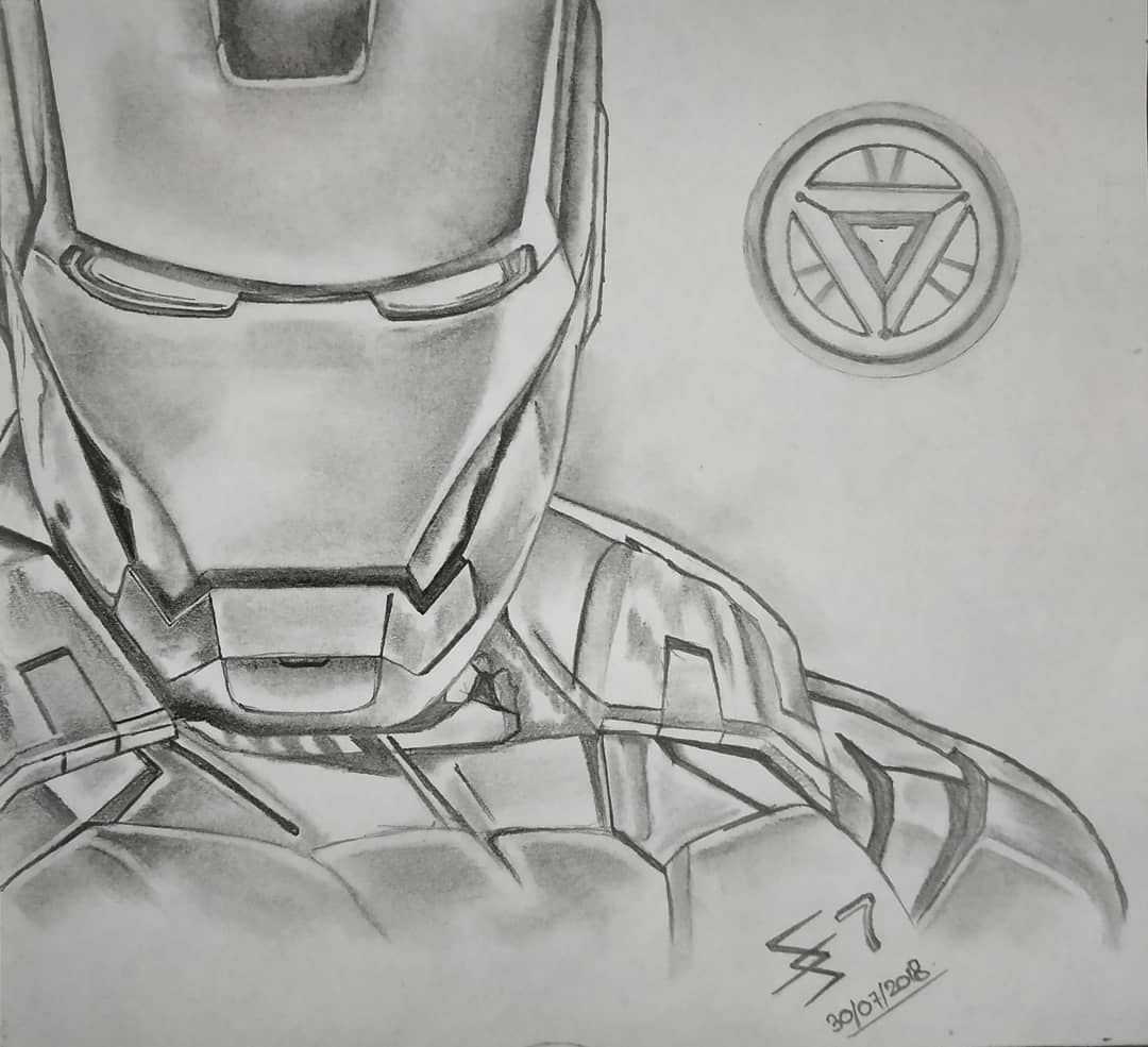 Iron Man Iron Man Best Picture For Drawing Sketches Anime For Your Taste You Are Looking For Somet Marvel Art Drawings Iron Man Drawing Avengers Drawings
