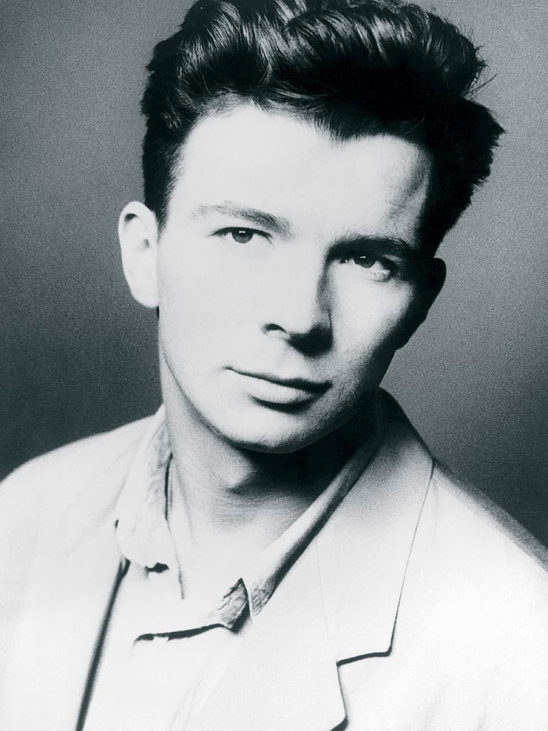 """1987 — Rick Astley's """"Never Gonna Give You Up"""" is a 1 hit"""