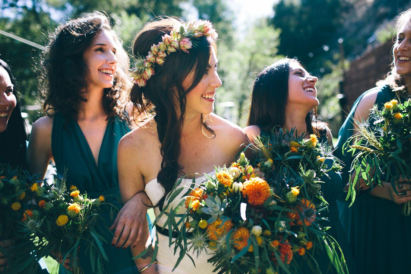 Topanga canyon wedding at the max cory are married los