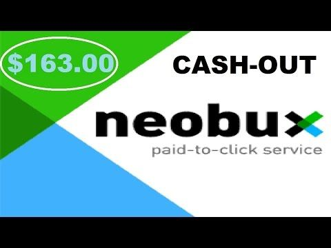$163 cash out from neobux (make money online 2016 ...