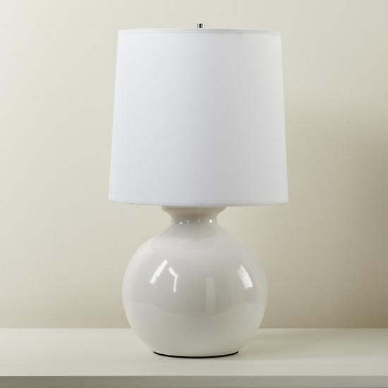 Lamp Table Gumball Wh Off 0112 Lamp White Ceramic Lamps Bedside Lamps Navy