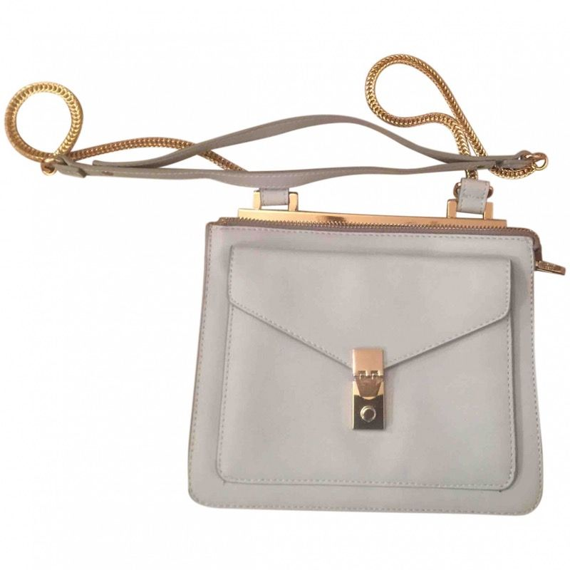 grey Plain Synthetic ZARA Handbag - Vestiaire Collective