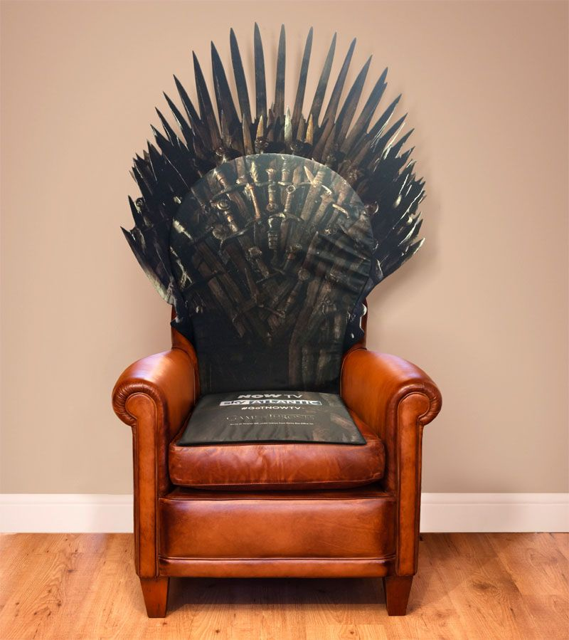Win A Limited Edition Replica Throne Of Swords To Celebrate Thrones