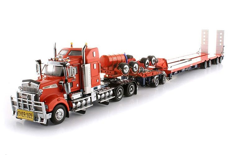 Toy Semi Trucks And Trailers : Drake trailers dolly swingwing kenworth t prime