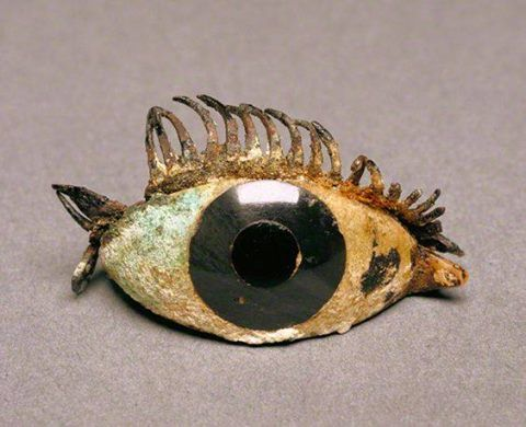 Greek 500 100 Bce Right Eye Of A Statue Marble Obsidian Glass And Copper Getty Museum Ancient Art Ancient Jewelry Greek Art