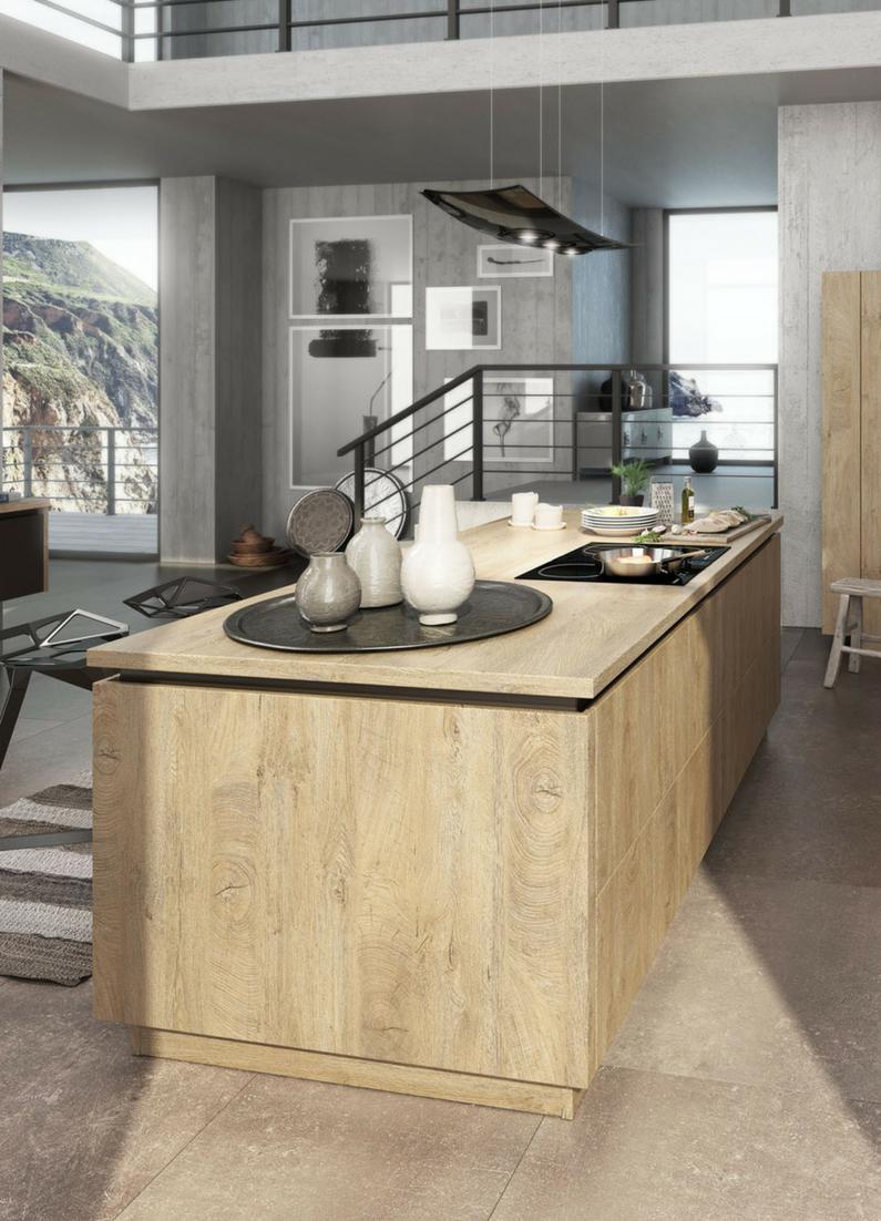 Küchen, Holz, Holzküche, Küche Aus Holz, Kochinsel, Kücheninsel, Insel Aus