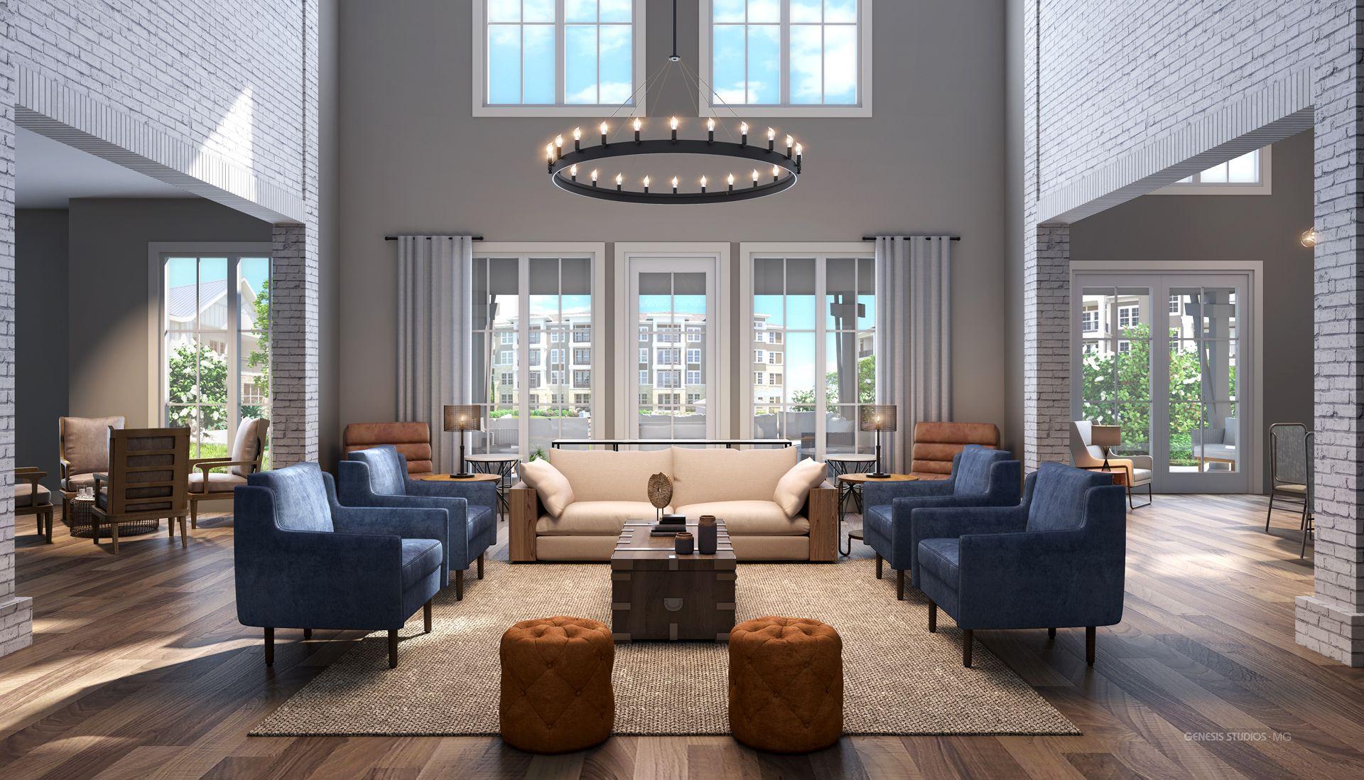 Digital Photorealistic Interior Renderings Interior Rendering