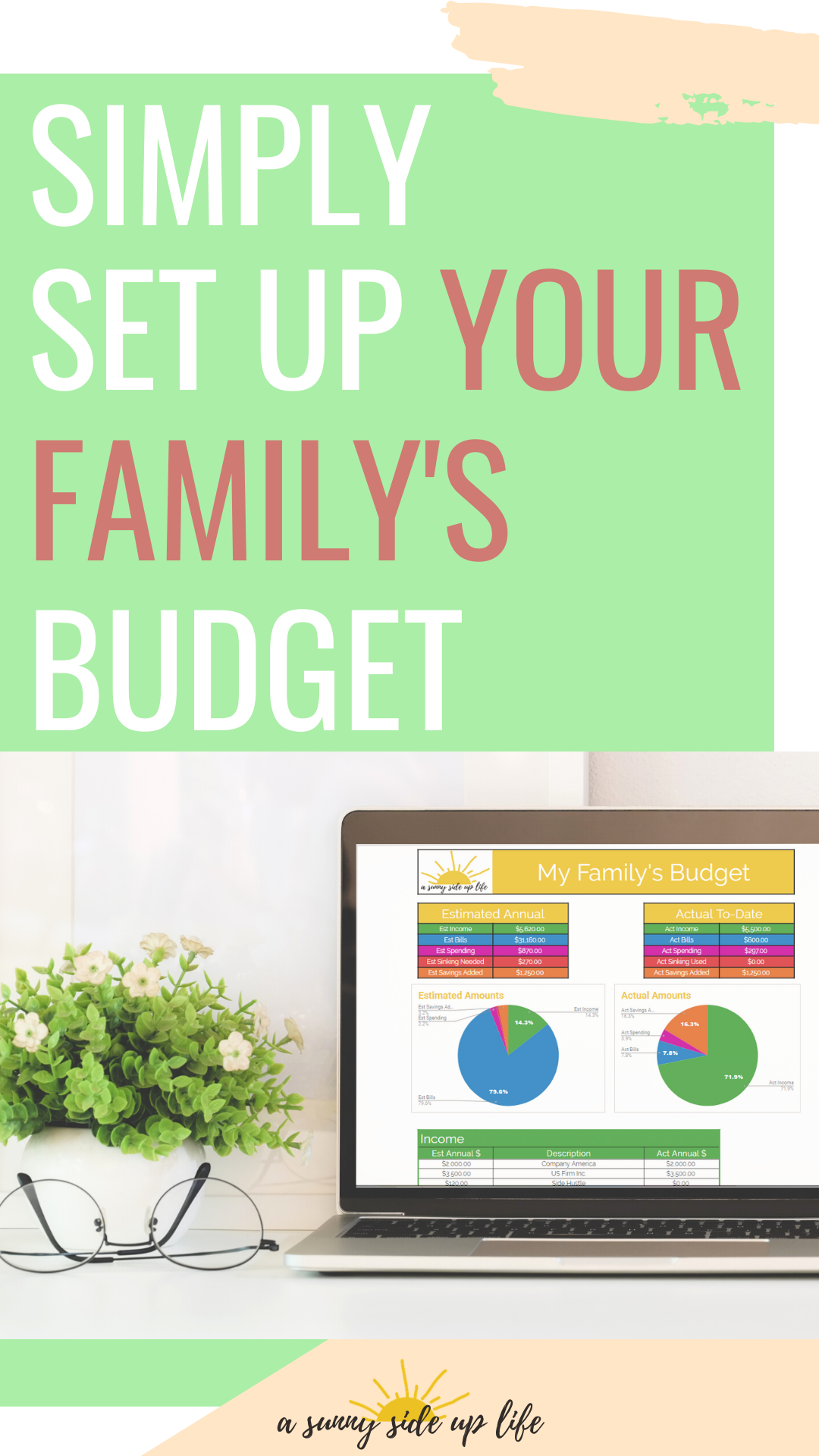 Simply Set Up Your Family S Budget