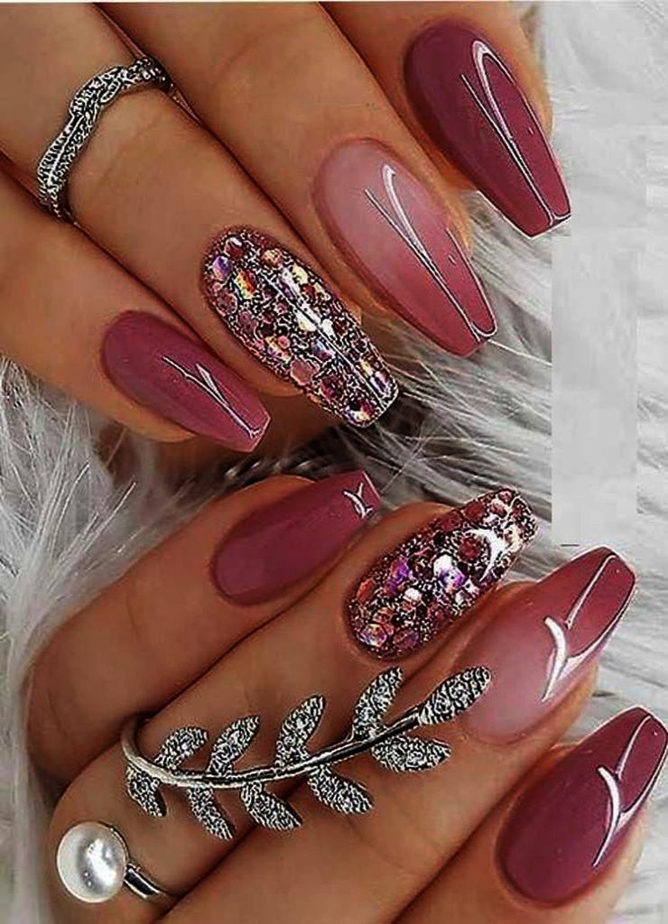 Dried Flower Nail Art Design 24 Different Colors Real Flowers
