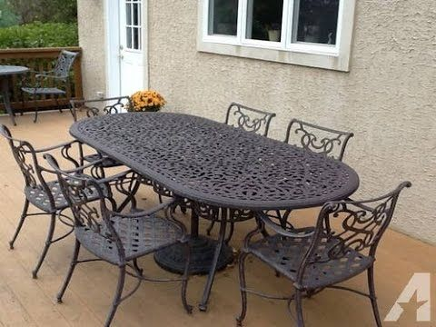 Cast Iron Patio Table