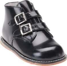 This style from Josmo has a dress and casual design featuring a unique, double buckle closure.They have an ankle height and a dual colored sole with contrast stitching.