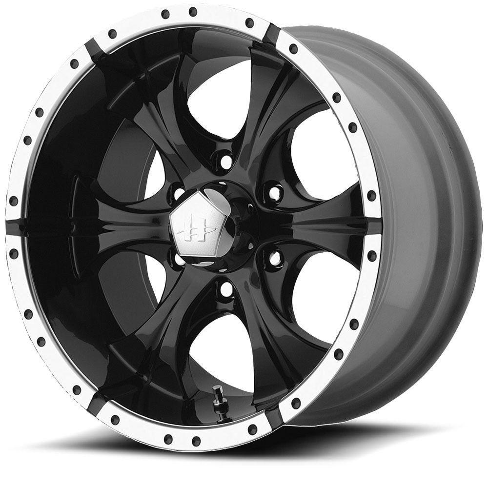 15 Helo He791 Maxx Black Machined Wheel 15x8 6x5 5 12mm Truck Rim Helo Black Wheels Black Truck Wheels For Sale