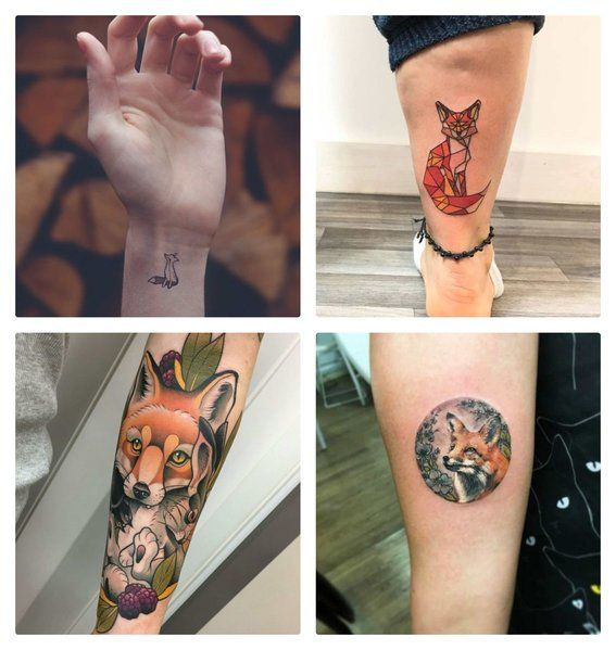 Tatuajes De Zorros Para Hombres Y Mujeres 4 Zorros Pinterest