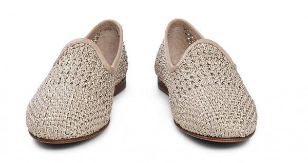 Santoni sceglie uno Stile classico e Colori moda per le Scarpe Estate 2014 Santoni scarpe estate 2014 mocassini intrecciati