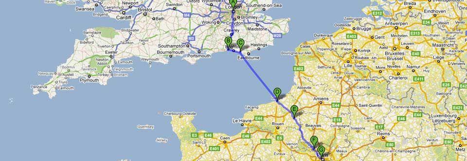London To Paris Bike Routes Bike Ride Bike Trips Cycling Touring
