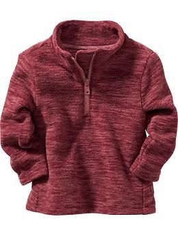 Space-Dye Performance Fleece Pullover for Baby | Old Navy- P & Z $11.00