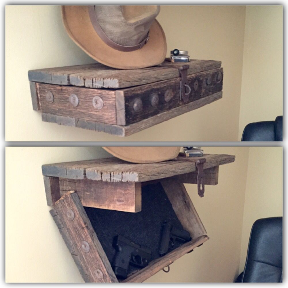 Hidden Gun Shelf Concealment Hidden Gun Storage