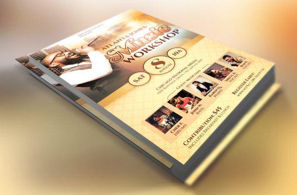 Church Music Workshop Flyer Church music, Churches and Flyer - workshop flyer template