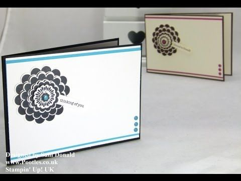 ▶ Stampin Up UK Five Way Flower Flash of Colour - YouTube
