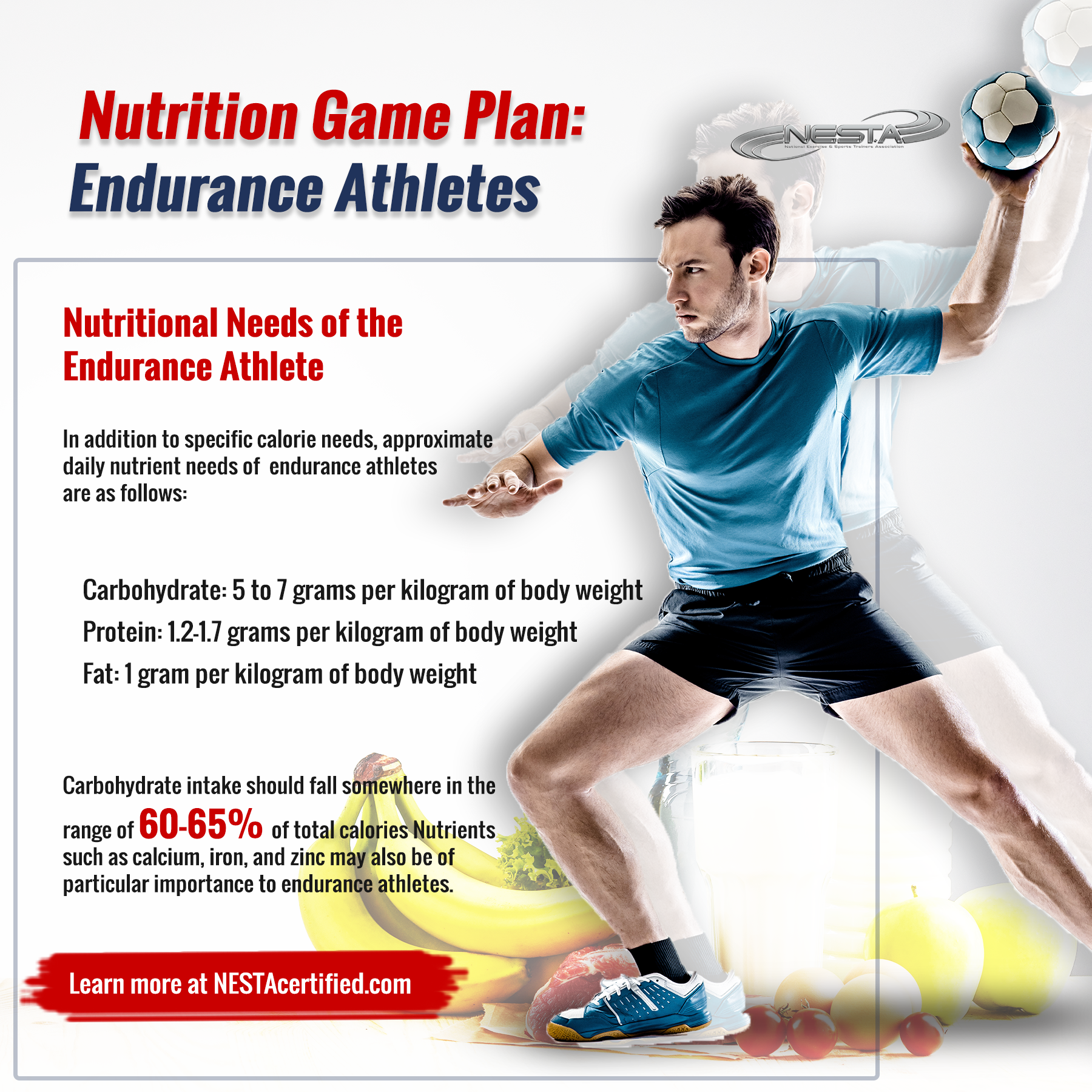 Nutritional Needs of the Endurance Athlete #athletenutrition Carbohydrate intake should fall somewhe...