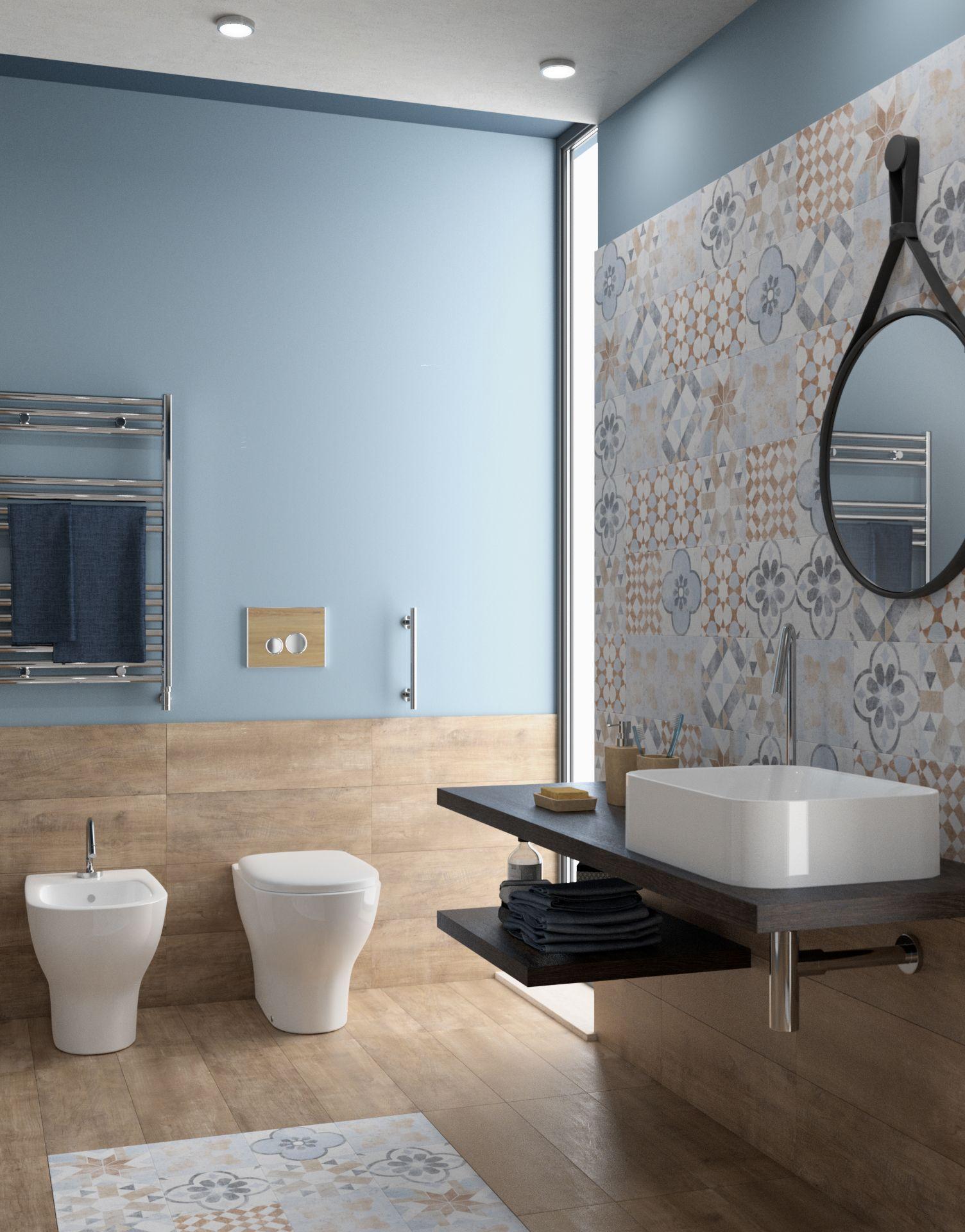 Piastrelle Per Bagno Piccolo piastrella villa 20 x 20 cm sp. 8.2 mm pei 4/5 multicolore