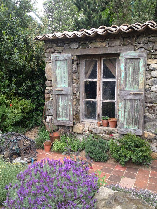 Secret garden shed jardiner a pinterest - Cobertizo de jardin ...