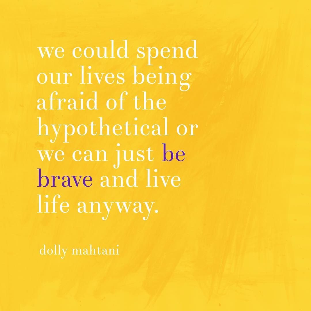 Let S Be Brave Today