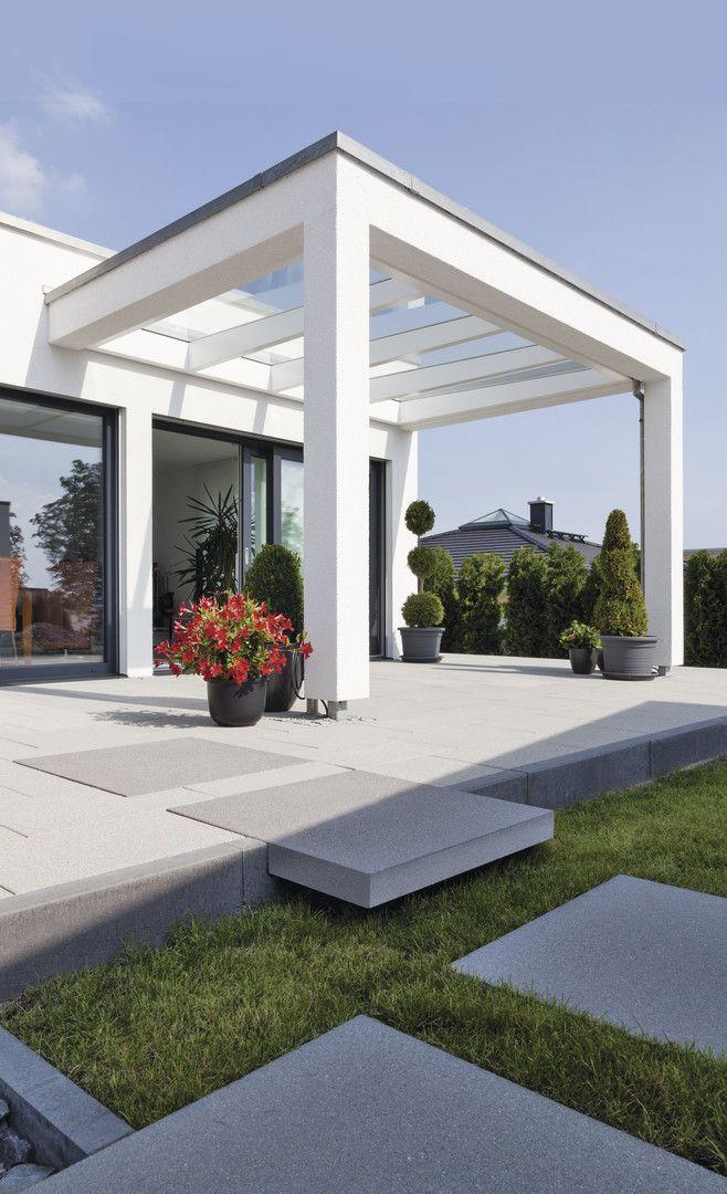 Photo of Con un salto en el jardín … Terraza de diseño 2.0. #rinnbeton # diseño #garte …