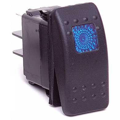 Toggle Switch For Off Road Lights Dodge Ram Blue Led