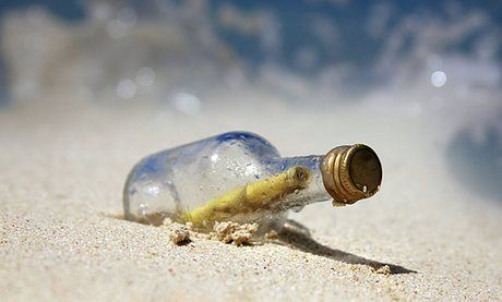 Message in a bottle, promising finder a shilling, bobs up after 108 years | World news | The Guardian