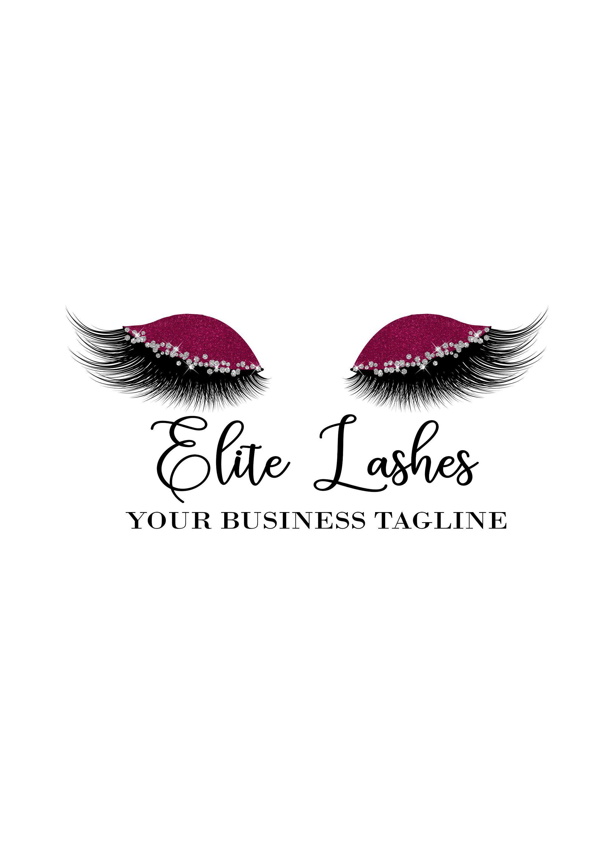 Eyelashes, Lashes, Lashes Logo, Makeup Logo, Makeup Artist
