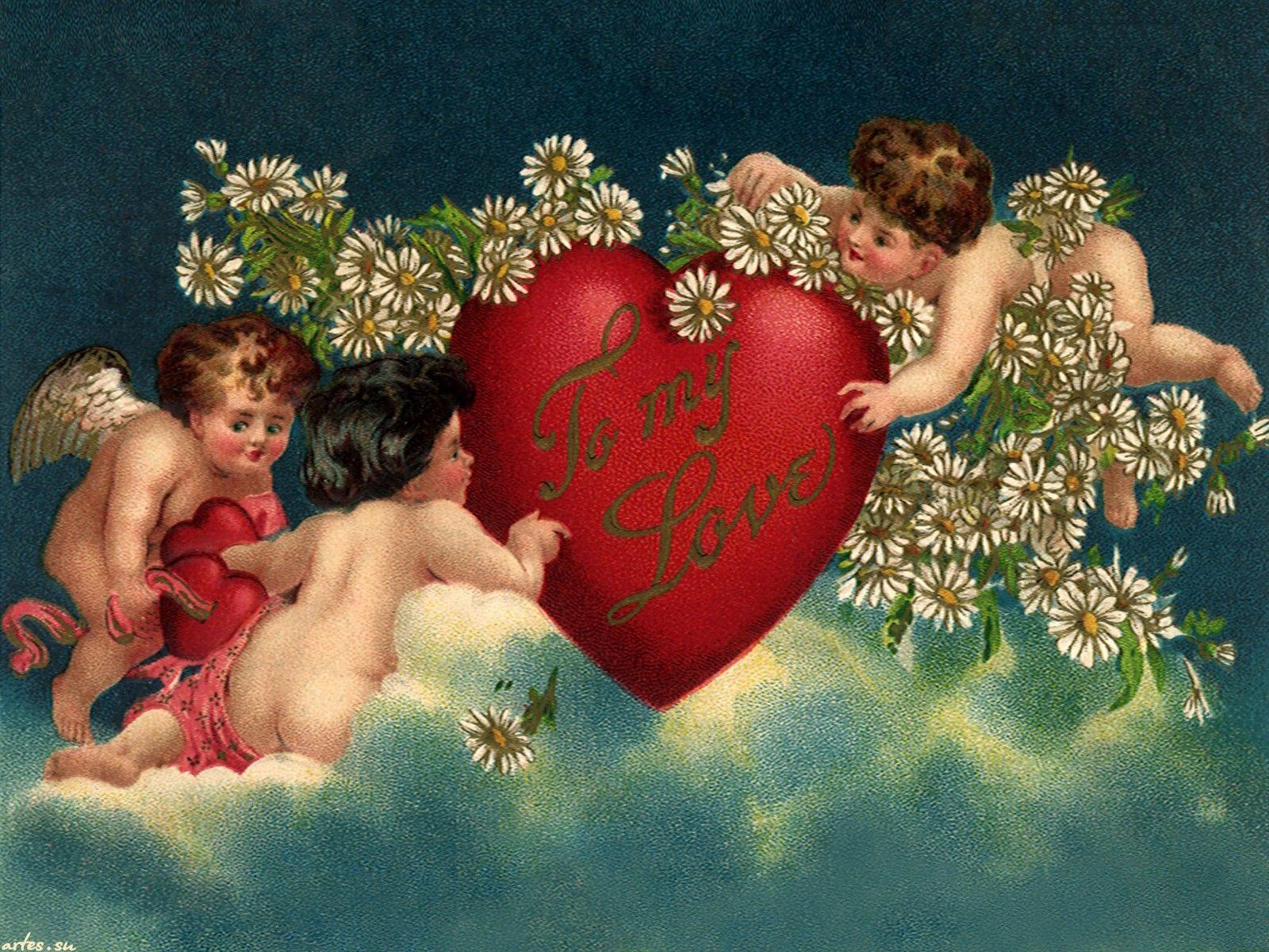 Открытки ангел любви