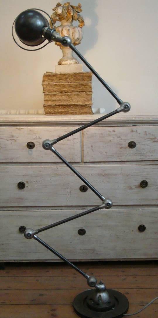 French Industrial Jielde table lamp
