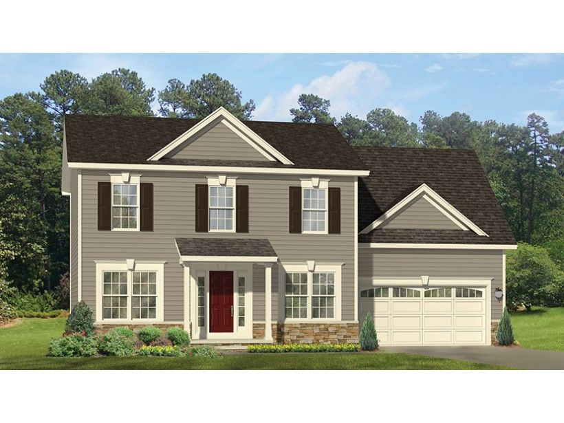 Home plan homepw77064 is a gorgeous 2056 sq ft 2 story 4 for Colonial floor plans open concept